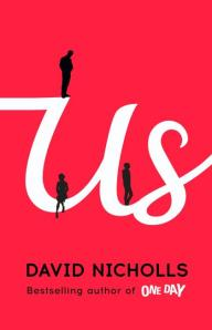 Us by David Nicholls - book jacket cover (2)